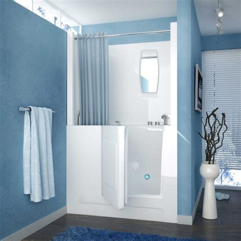 walk in shower with tub walk in tubs and showers combo