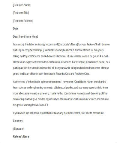 Reference Letter Spacing Sle Personal Reference Letter 6 Free Documents In Word Pdf