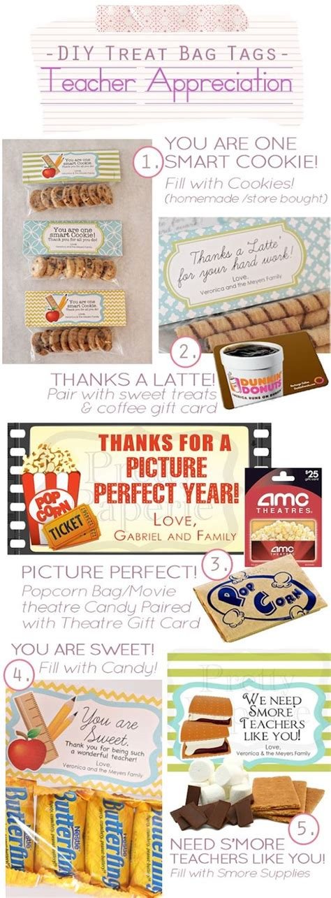 treat bag ideas treat bags teaching and appreciation on