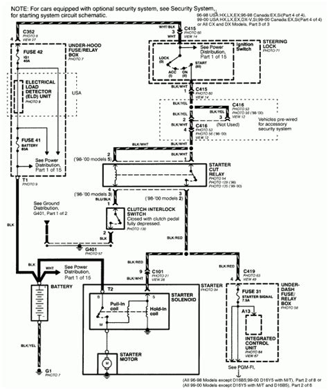 2004 honda odyssey wiring diagram wiring diagram and