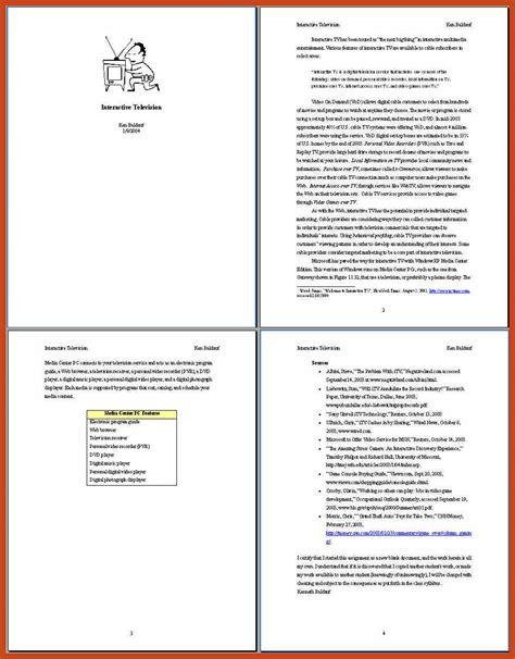 format apa versi 6 6 7 apa paper exles resumetem