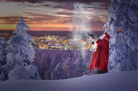 rovaniemi wallpaper santa claus presents welcome to rovaniemi my official