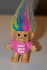 lucky bingo troll doll russ etsy 8 00 toys dolls childhood care bears