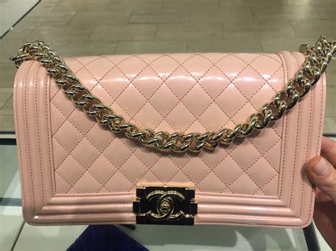light pink chanel bag chanel iridescent calfskin boy bags from 2016 act 1