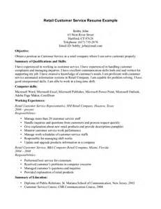 Customer Service Objective Statements Resume Examples For Service Crew Archives Resume