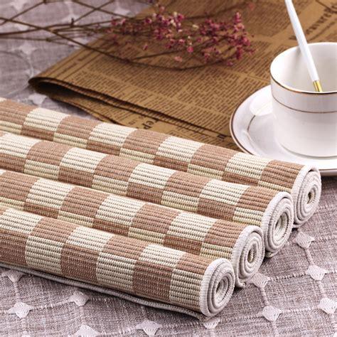 Aliexpress Buy 4pcs Set Placemat by 4pcs Lot Placemats 100 Cotton Placemat Bar Mat