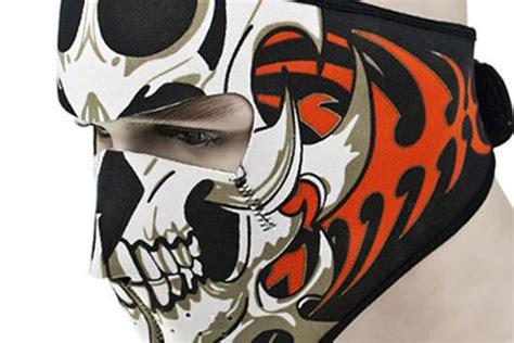 Masker Motor aksesoris motor masker unik khusus buat pengendara motor