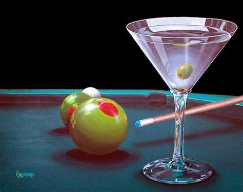 martini painting michael godard art for sale