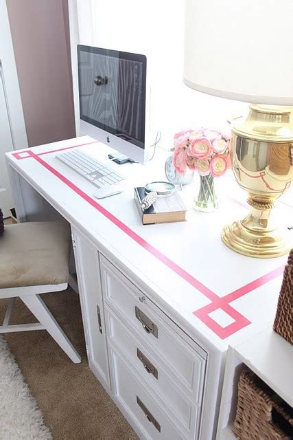 diy painted desk diy key painted desk ideas projects