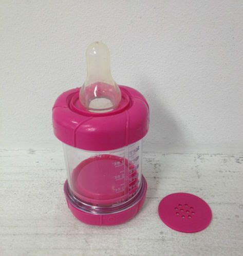 Baby Crib Feeder Pink Sassy Infant Infa Feeder For Cereal And Baby Food Bottle