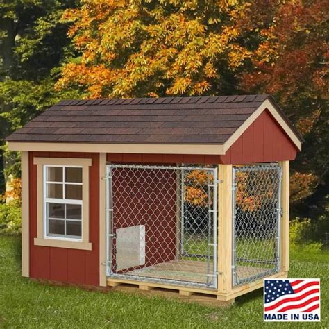 dog houses kennels amish barn dog kennel
