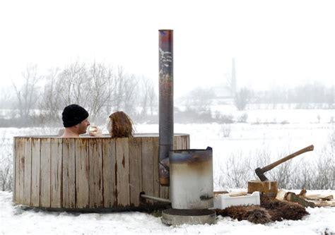 Wood Fired Bathtub by Wood Fired Tub Iconic Dutchtub Heats Organically