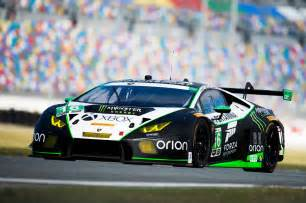 Lamborghini Race With Eight Lamborghini Hurac 225 N Gt3 Cars Racing For Rolex 24 At