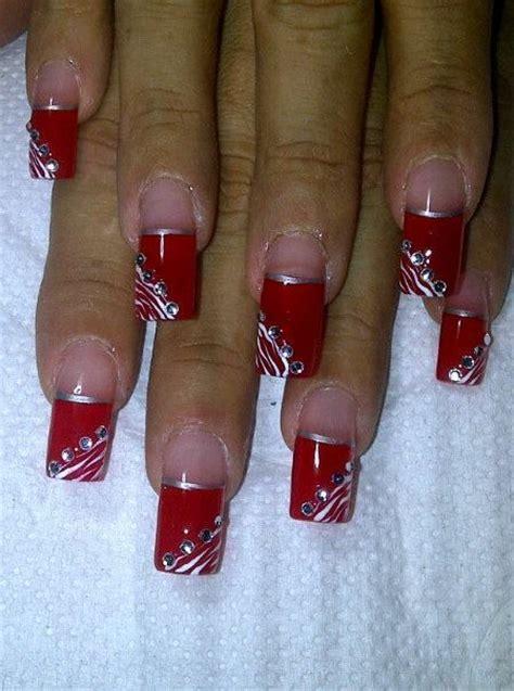 imagenes de uñas decoradas 2015 rojas unas acrilico rojas imagui