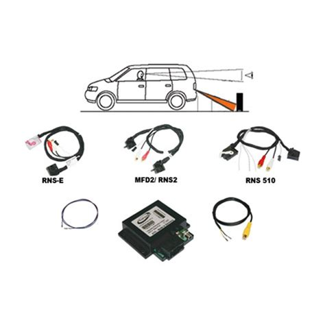 Kufatec Rear View Camera Interface For Audi Rns E