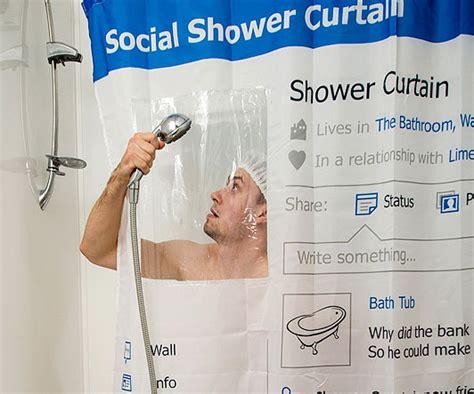 facebook shower curtain facebook profile shower curtain