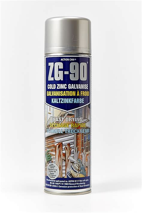 spray paint zinc zg90 zinc galv spray paint 500ml tin fast drying