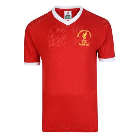 Jersey Retro Liverpool 93 buy liverpool fc 1981 european cup retro shirt liverpool 1981 european cup shirt