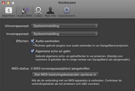 Garageband Echo Ontdek De Effectenplug Ins In Garageband Pagina 2 3