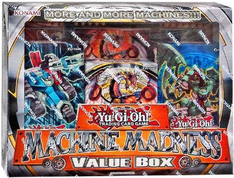 structure deck madness yu gi oh machine madness value box hill s wholesale gaming