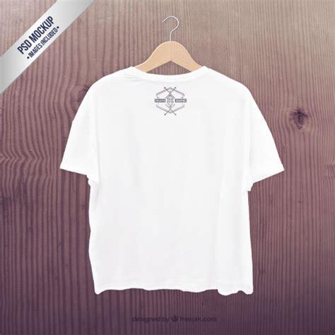 Kaos T Shirt Brazzer 0 1 White white t shirt mockup psd file free