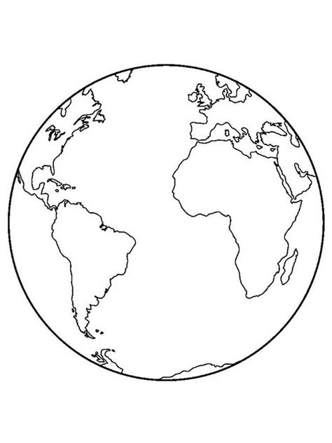 Coloring Page Earth by Earth Coloring Pages Free Printable Earth Coloring Pages