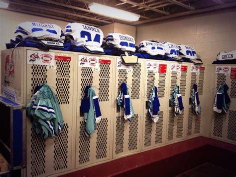 Dallas Locker Room by Dallas Cowboys Vs Miami Dolphins Hof Preview