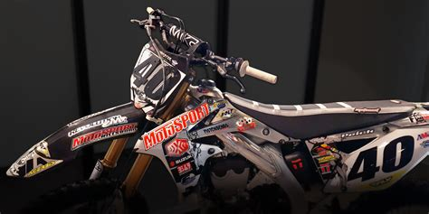 custom motocross bikes 10 cool custom dirt bike graphics to add to your ride