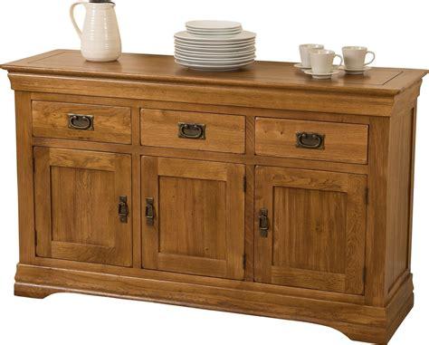 chateau large oak sideboard modern furniture direct