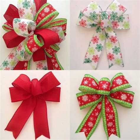 set decorative bows whimsical bows tree