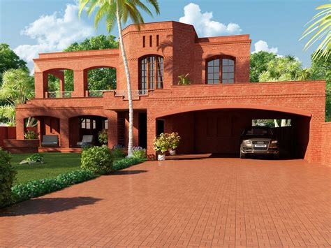 modern house brick design ? Modern House