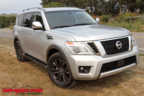 armada jeep nissan first drive 2017 nissan armada off road com