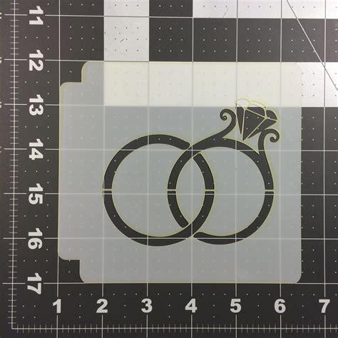 Wedding Rings 100 by Wedding Rings Stencil 100