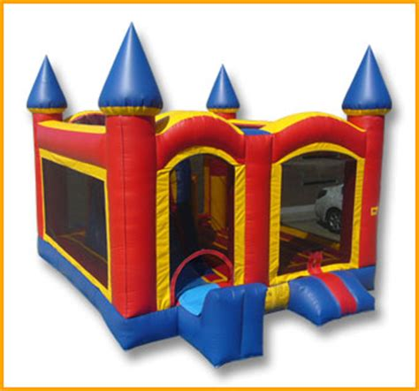 bounce house rentals utah castle 5 in 1 combo