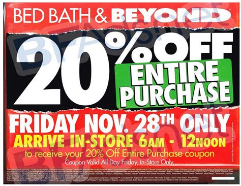 black friday bed deals black friday ads 2014 bed bath beyond ad scan now