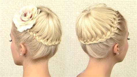 lilith moon hair tutorials crown braid tutorial prom updo hairstyle for medium long