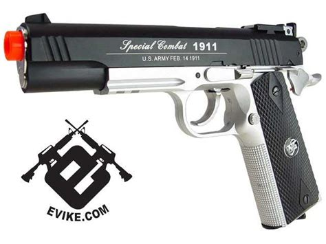 Harga Gas Co2 Airsoft Gun by Wg Co2 Powered Special Combat 1911 Airsoft Gas Gun Color