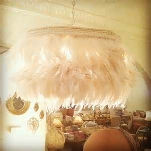 Feather Chandelier Feather Chandelier Creative Home Goods