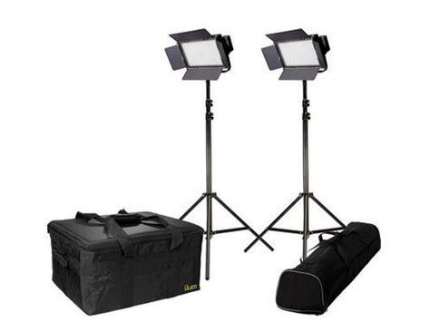 ikan light kit w 2x ifb576 led lights 2x hd stands