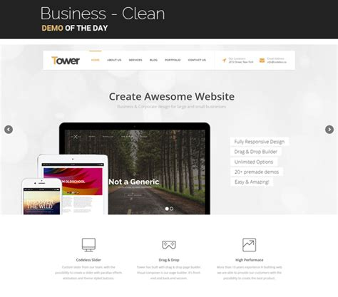 the galaxy design driven multipurpose wordpress theme tower business driven multipurpose wp theme wordpress