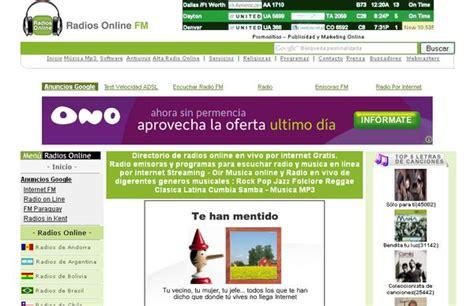 radios online fm directorio de radios para escuchar