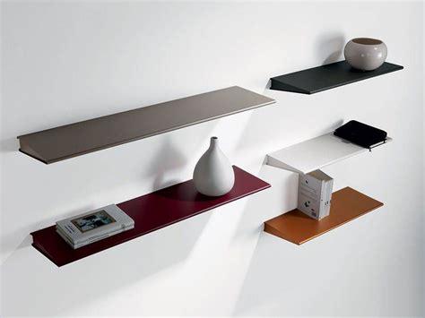 mensola in acciaio mensola in acciaio design colorata ala