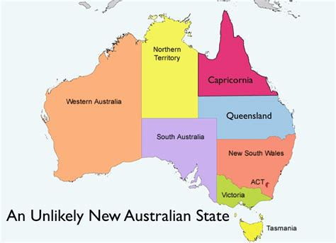 australia map of states opinions on states and territories of australia
