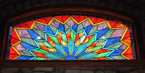 stained glass window residential modern stained glass castle studio stained glass