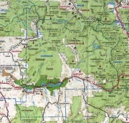 map of gunnison colorado gunnison county colorado maps