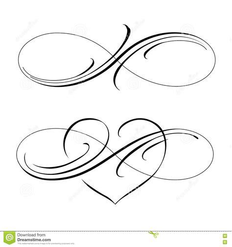 infinite love stock vector illustration of mobius love
