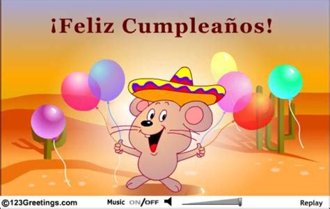 free printable happy birthday cards in spanish birthday wishes in spanish page 4