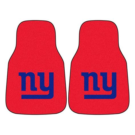 fanmats new york giants 18 in x 27 in 2 carpeted