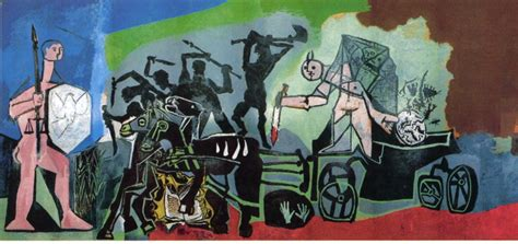 picasso paintings ww2 picasso and the anti war movement 1969