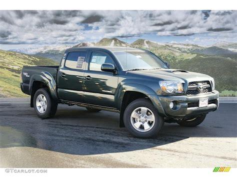 2011 Toyota Tacoma Trd Sport Specs by 2011 Timberland Green Mica Toyota Tacoma V6 Trd Sport